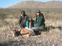 The hunt in Namibia
